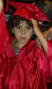 Sebastian's preschool graduation